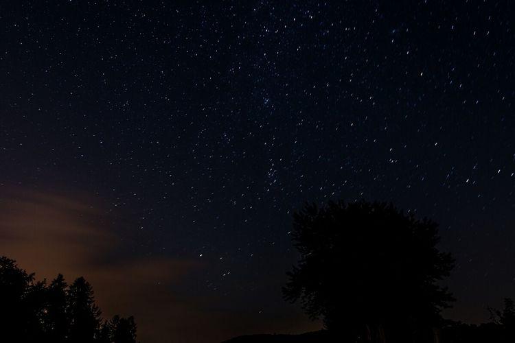 Light Pollution Nightphotography Landscape Stars