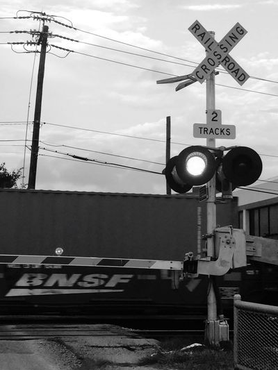 Railway Train Railroad Crossing Blackandwhite Capture The Moment