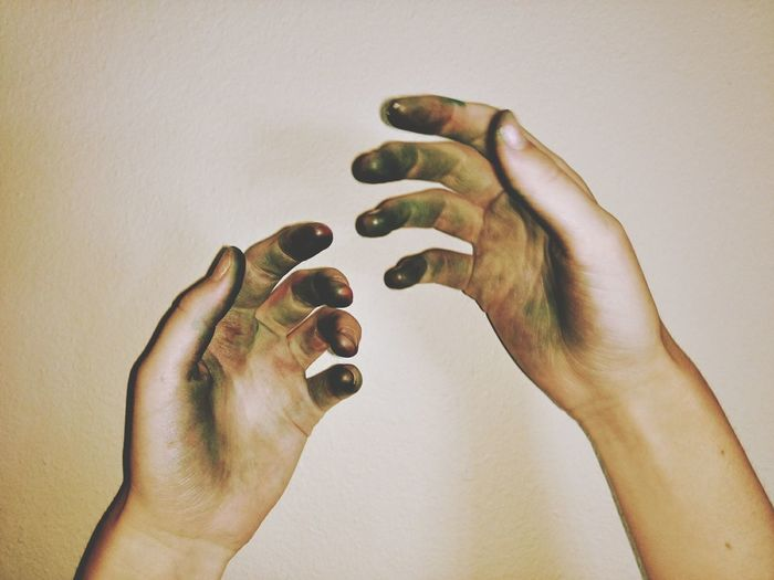 EyeEm Selects Human Body Part Human Hand One Person Close-up Day Lifestyles People Indoors  EyeEmNewHere Let's Go. Together. Scary Moment Messy Hands Bloodstained