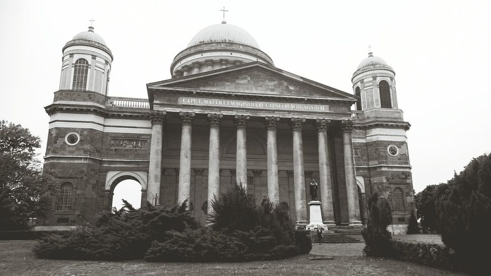 Esztergom Basilica Black And White Seeing The Sights