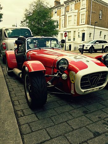 Caterham Caterham With Style Car Street Freedom Old School Automobile Seven Red Wish