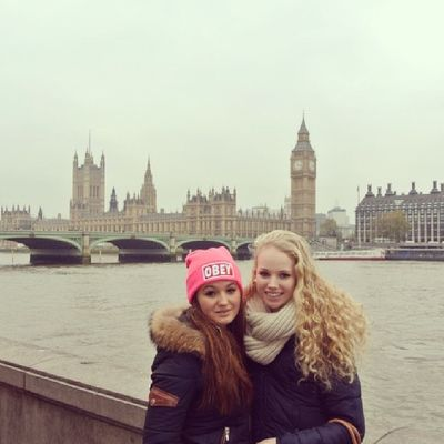 With My Lovely Best  girl friend love her friends girls amazing time in london ?