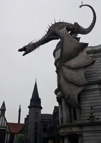 From My Point Of View Diagon Alley Dragon Gringotts
