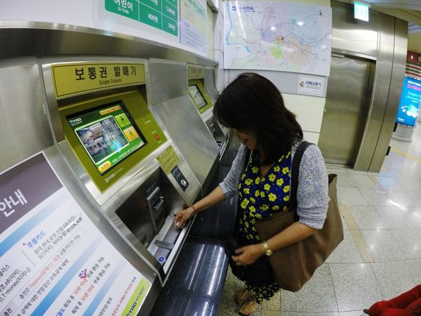 My Journey In South Korea First Time to buy Token Enjoying Moments My Commute On The Way The Journey Is The Destination