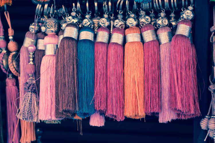 Colorful Tassels For Sale