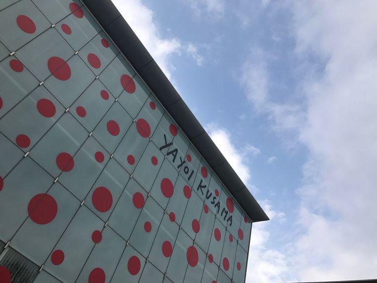 Matsumoto city museum of art, Designed by tadanaga miyamoto. Sky Cloud - Sky Low Angle View Architecture Built Structure No People Building Exterior Day Outdoors Nature Kusama Yayoi Yayoi Kusama Artist Design Art Matsumoto L
