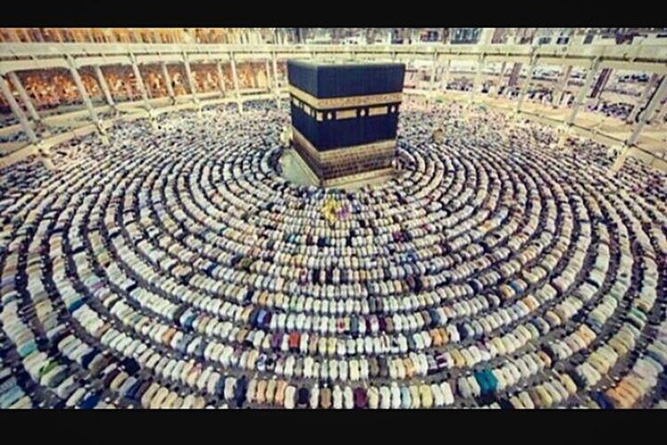 Beautifully Organized مكة المكرمة الكعبة المشرفة