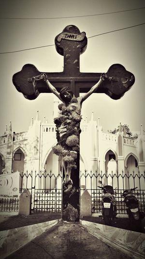 Blessed Sunday..... Sundaymass Church Jesus Holycross Photos Around You Open Edit