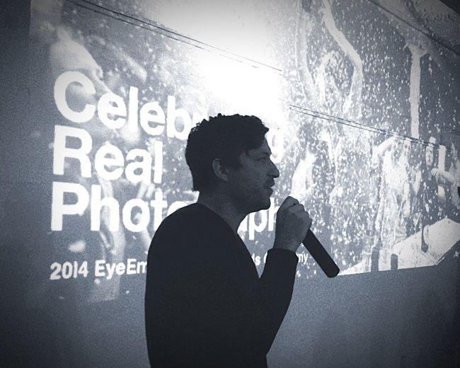 EyeEm Event Founder Speech NYC