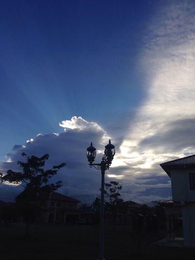 Early Morning Early Morning Sky Blue Sky