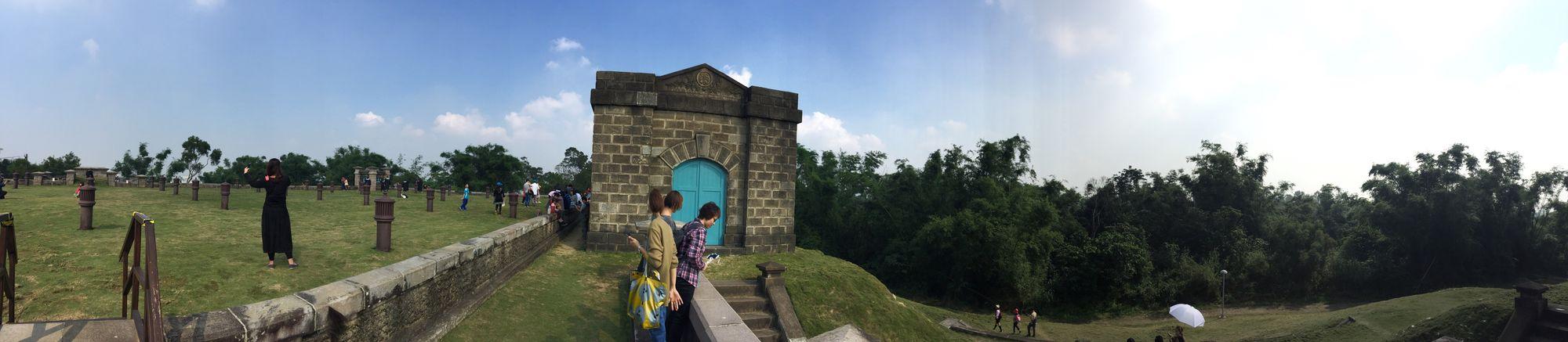 歐式建築的淨水廠。與Macie