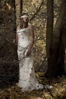 Ghosts of autumns past Autumn Fall Tree Beautiful Woman Beauty Fashion Model Beautiful People Females Portrait Women Standing Fashion