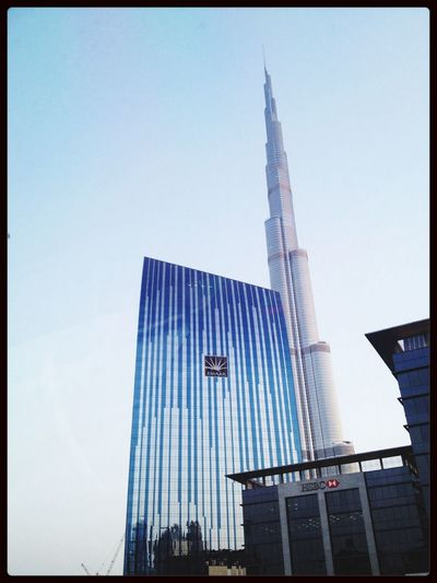 Burj Khalifa - world's tallest building