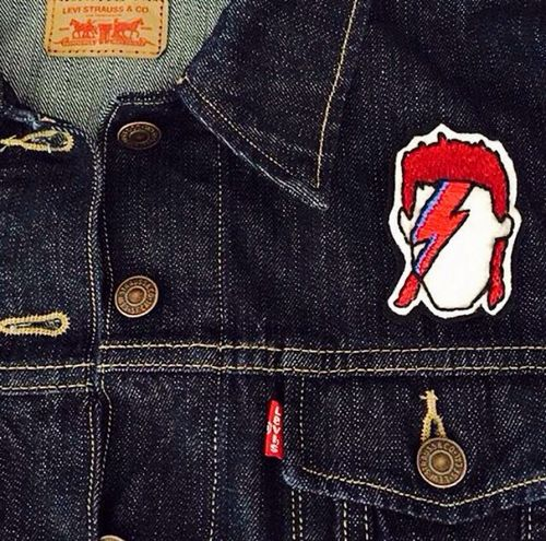 David Bowie Levi's Levis Jacket LEVIS™ Fashion Fashion Photography Rock Rocks Rockstar Rockstars British Check This Out