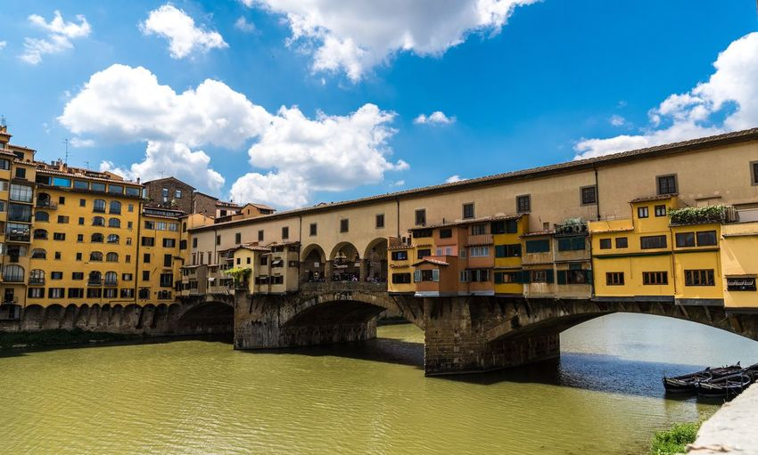 Florence Italy Arno  Bridge River Travel Destinations Firenze Ponte Vecchio - Firenze Florence, Italy Sony Alpha 7RIII
