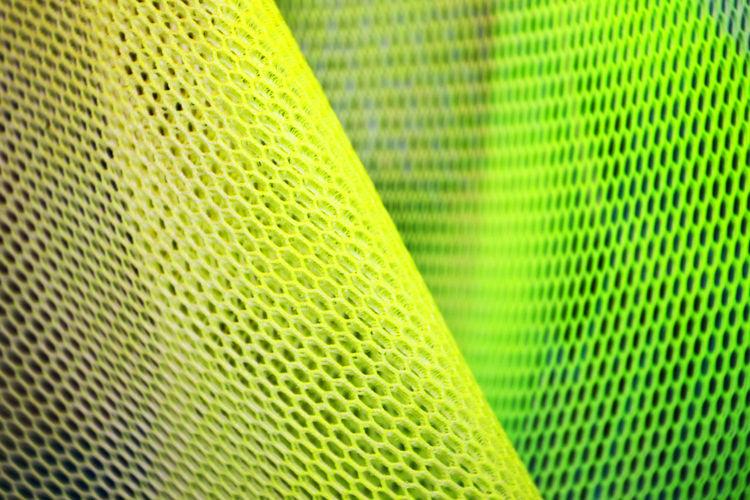 Full Frame Shot Of Green Netting