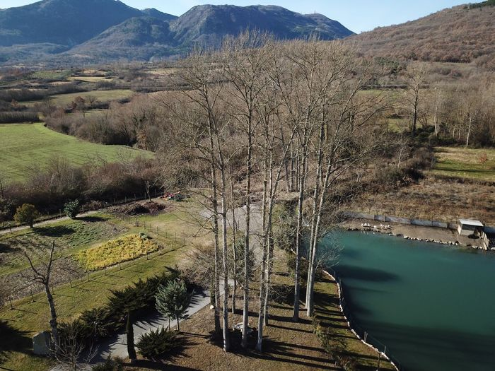 Trees Molise Tranquility Water Mountain Tranquil Scene Beauty In Nature Nature No People Shades Of Winter