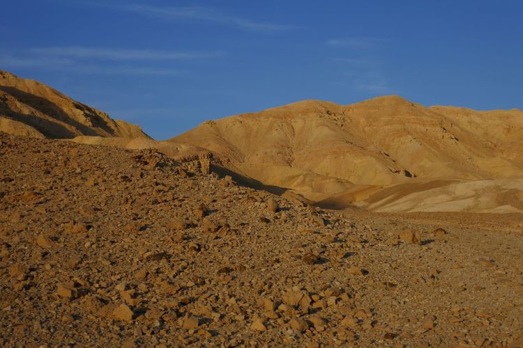 Travel Destinations Adventure Negev  Israel Sky Land Scenics - Nature Tranquility Desert Beauty In Nature Nature Landscape Mountain Tranquil Scene Environment Blue Arid Climate No People Non-urban Scene Climate Day Sunlight