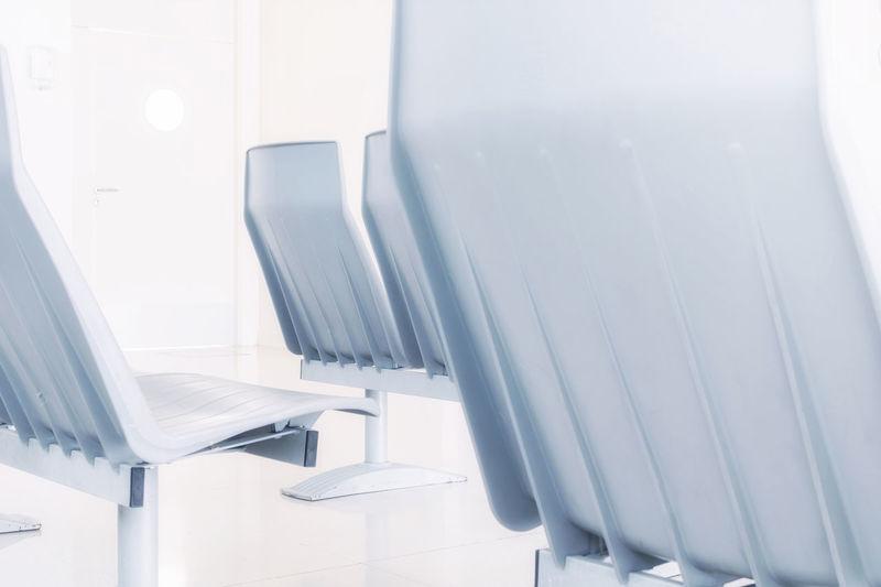 The waiting Emergency Emergency Room Hospital Chair Indoors  Modern No People Seat