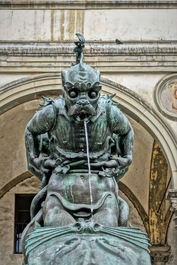 Santissima Annunziata Ape-Man Architecture Basilica Of The Most Holy Annunciation Building Exterior Catholic Church City Day Fountain No People Outdoors Sculpture Statue Water EyeEmNewHere