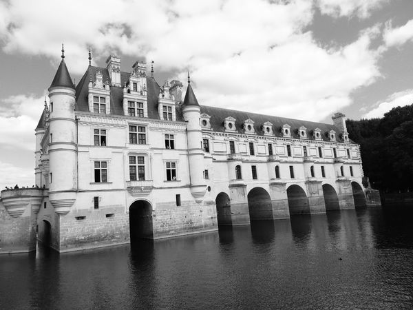 Chenonceau Chenonceaux Loire Loire Valley France Built Structure Architecture Building Exterior Sky Cloud - Sky Water Waterfront Nature Building History Day Arch The Past Travel Destinations No People River City Reflection Outdoors