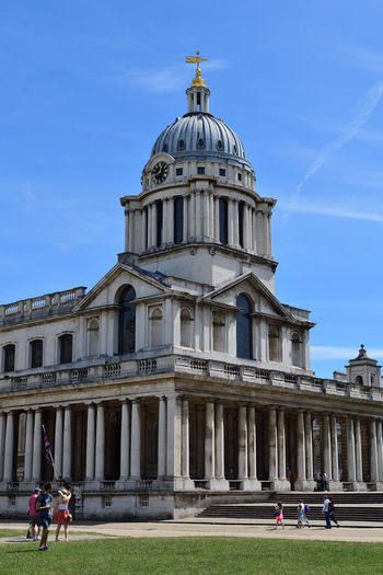 View of the university of greenwich