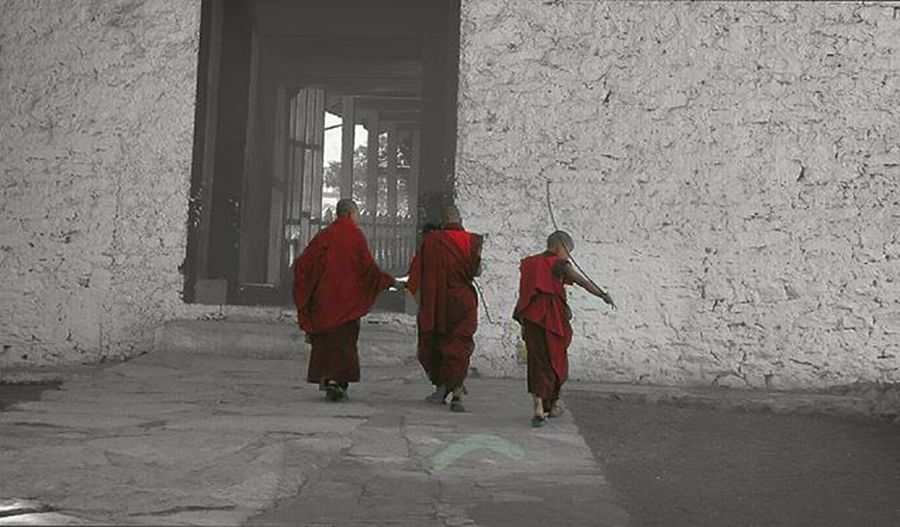 Little monks ! Bhutan Bhutandiaries NikonD5200 Nikon Nikonphotographers Punakha Punakhadzong Desaturated Travelingram Travelgram Traveldiaries Photographersofbangladesh Photogrid Instagram Humans Photogram Pro_ig Nikon5200 Culturegram Traditional Photographyeveryday Culture Buddhism Buddhist Peace monastery monk monks travelling travelbhutan