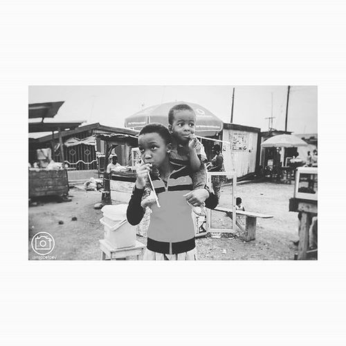 What lies ahead? The joy of Childhood Photocred: Enoch ' Robot Boy' Appiah Jr. (©2015) Device: Moto G Apps: Snapseed+ Photoshop Touch+ Afterlight AndroidPhotography VSCO Ghana Ghana360 Kumasi Kids Children Mobilography Mobilephotgraphy Monochrome Nofilter Joy Fun