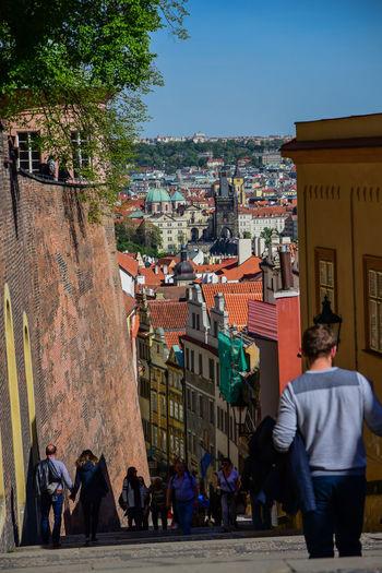 Prague Praha Random Stairs Taking Photos Landscape Outandabout Outdoors People Prag Prague Castle Shot