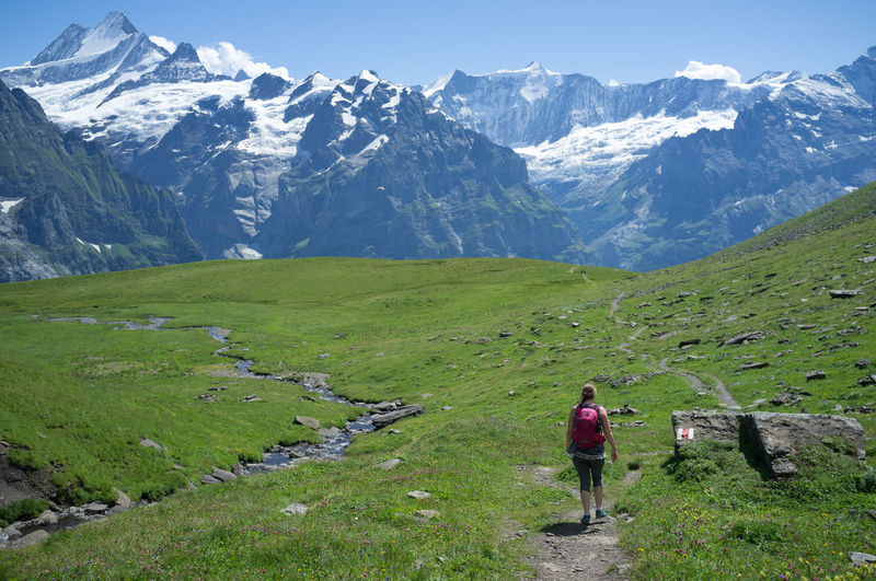 Hiking tour in