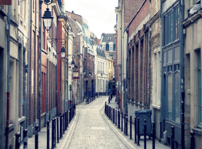 [Street & Moments of Lille/France] Architecture Best EyeEm Shot Cityscape Architecture Built Structure City Claudetheen No People Outdoors Street Photography Streetphotography Vintage