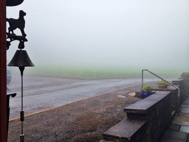 there is a convent somewhere in the fog... WeatherPro: Your Perfect Weather Shot
