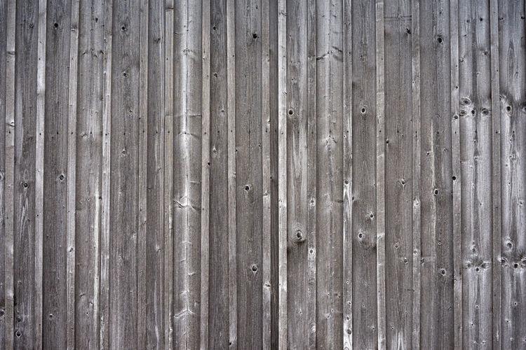 Full frame of wooden wall