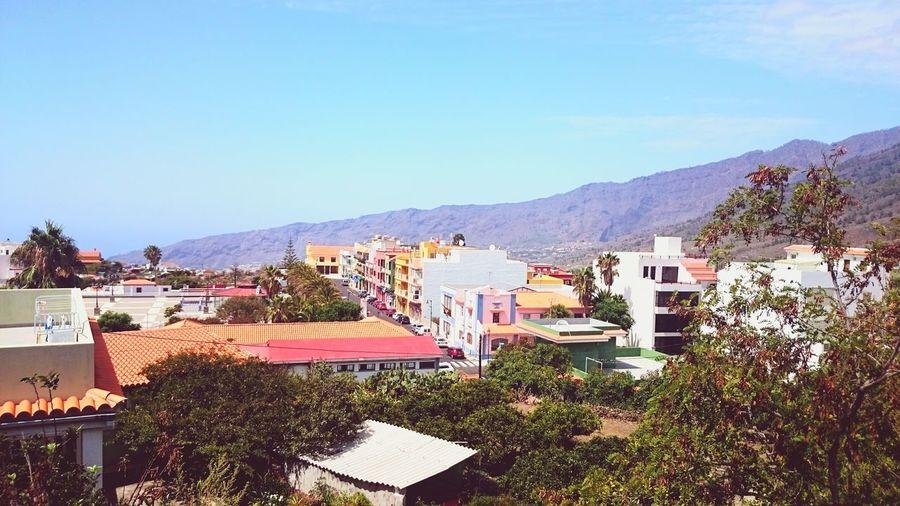 Cityscapes Village Colorful City Laislabonita Canarias LaPalma Village View Suncity
