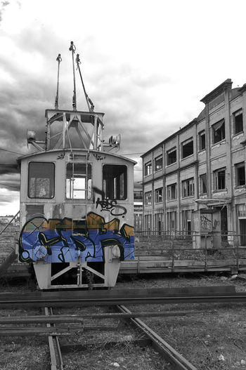Abandoned Factory Architecture Factory Zone Mode Of Transport No People Outdoors Tagsforlikes Train - Vehicle