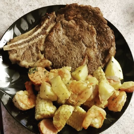 Father's Day Dinner Food Ready-to-eat Check This Out Just A Quick Meal Finger Lickin' Good Dinner Homemade Food Healthy Eating Thanks for Father's day dinner my wife and best friend love you