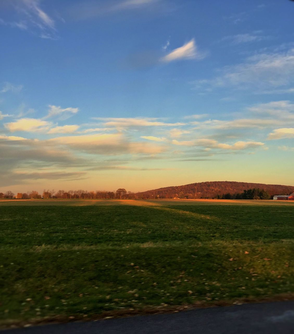 landscape, beauty in nature, tranquility, nature, tranquil scene, field, sky, scenics, no people, agriculture, grass, rural scene, outdoors, day