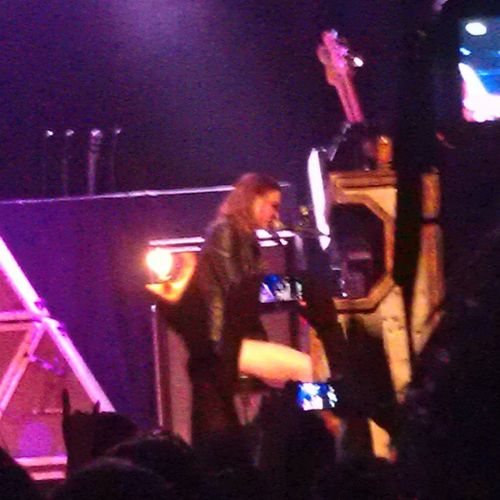 The lead singer of Halestorm singing and playing her Piano Solo. <3 Halestorm Piano Solo Hot concert