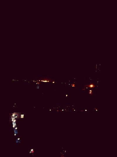 It's really a dark night.