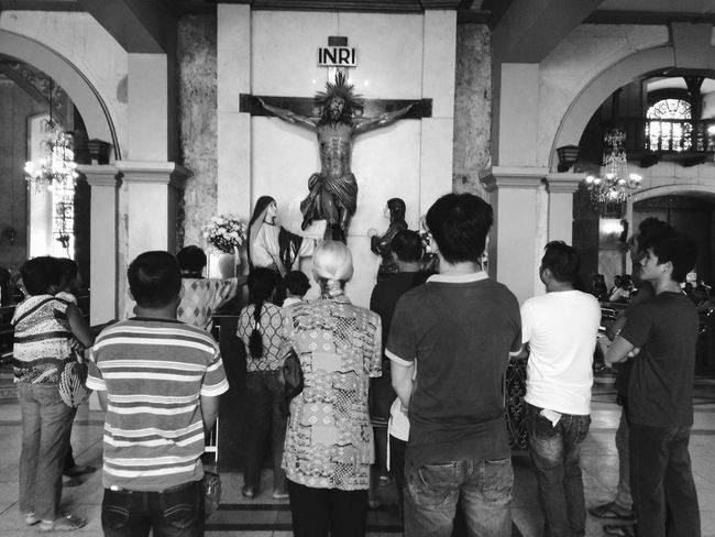 FAITH | Basilica del Sto Nino de Cebu EEA3 - Cebu Eye4photography  Eyeem Global Meetup Cebu Eyeem Philippines EyeEm Global Meetup IPhoneography Frustrated Photographer The Photojournalist - 2015 EyeEm Awards EyeEm Best Shots - Black + White IPSBlackWhite The Global EyeEm Adventure 3