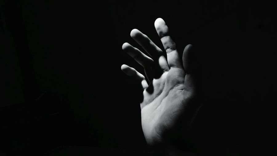 EyeEm Selects Blackandwhite Hand EyeEm Like Black And White White Background Beauty In Nature Young Adult Bright Exposure EyeEm Best Shots EyeEm Nature Lover Photography Picoftheday Human Hand Black Background Close-up Shining Fingernail Body Part Child Abuse