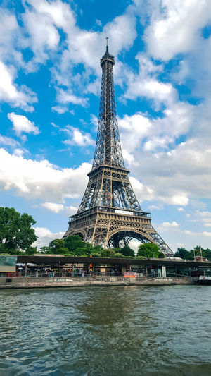 Eiffel Tower Travel Destinations City History Cultures Sky Tower Cloud - Sky No People Outdoors Tree Day Eiffel Tower Paris France Travel View Photography Photooftheday Bestoftheday EyeEm Best Shots Landmark Europe Architecture Architecture_collection Wanderlust