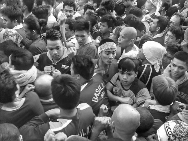 HOLY FRIDAY 2015 - Devotees of the Black Nazarene Taken on my ASUS Tablet. Check This Out Nazareno Manila Phillipines Emotions Street Photography Documentary Eyeem Philippines