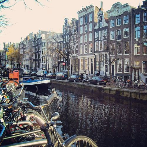 Guess where I'm gonna be in a week? That's right, Amsterdam! Travel Europe Amsterdam Netherlands Holland Backpacking Solotravelling Keepexploring Traveleurope Explore Bike NL
