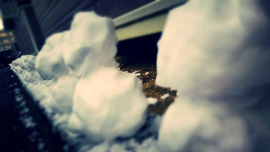 雪だるまつくーろー♩/ アナと雪の女王 Snow❄⛄ Snow Day Ice Princesses Taking Photos