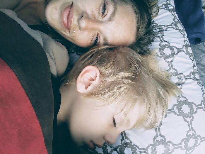 Iloveyou Mommy Momlife Morning Good Morning Wakeup Cuddles Cuddling Childhood Child Mom Son Mommys Boy❤ Gemini Lovebug Love My Love Young Women Beautiful Woman Portrait Headshot Beauty Eyes Closed  Close-up Natural Beauty Blue Eyes