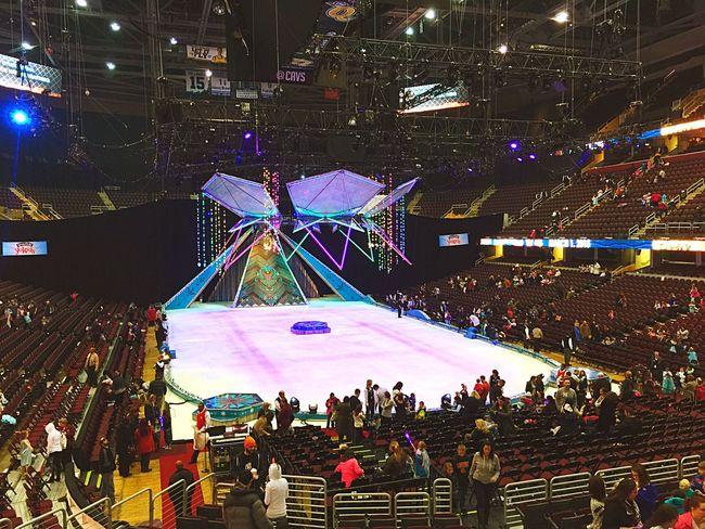 Frozen on Ice Frozen FrozenonIce Ice Skating Quickenloansarena Iphonephotography IPhoneography Iphone6plusphotos Family