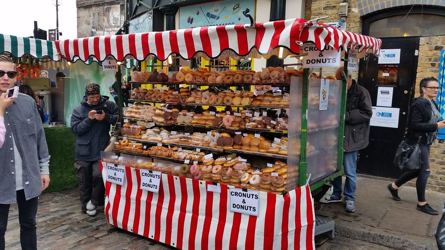 City Food London Market Multi Colored Outdoors People And Places Stable Markets London Lifestyle