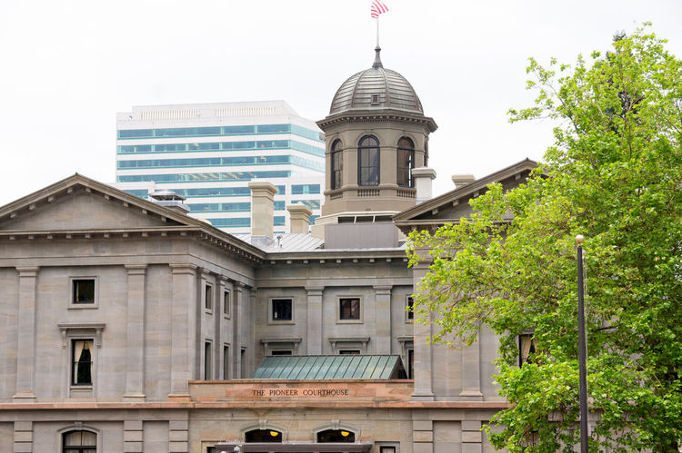 Pioneer Courthouse Building. Building Pdx Portland, OR Architecture