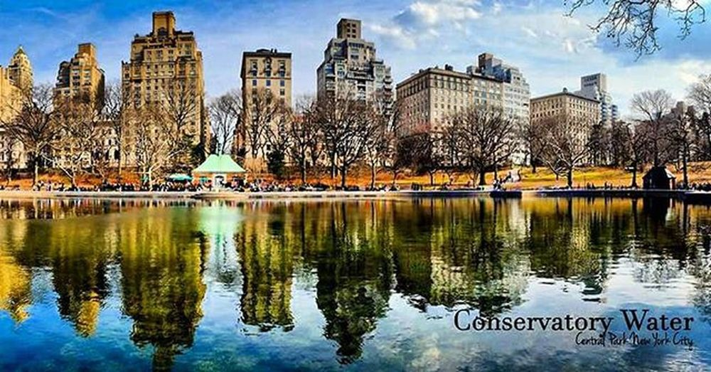 Conservatorywater NYC Newyork Newyorkcity CentralPark Travelandtakephoto Travelthruthelens Wilzworkz Instagood Instadaily Park Water City Instamood